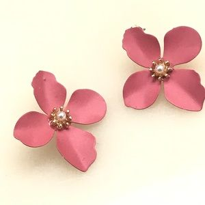 Anthropology | flower stud earrings